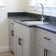 Blenheim Mudroom, Sink Wall