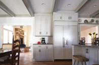 Blenheim Kitchen, Fridge Wall