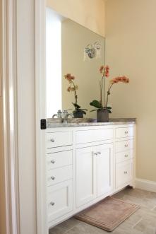 Blenheim Bathroom, Guest Vanity