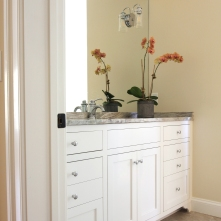 Blenheim Bathroom, Guest Vanity