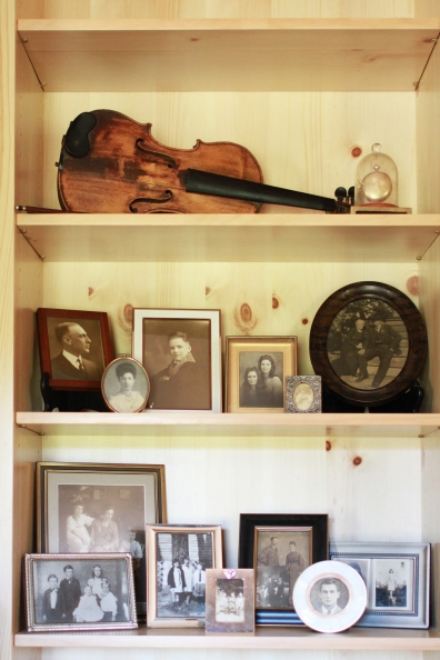 Blenheim Living Space, Shelf Detail