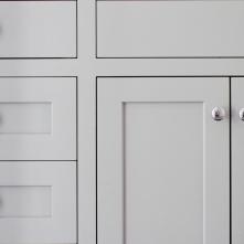 Blenheim Bathroom, Guest Vanity Detail