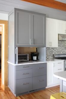 Box Holly Kitchen, Pocket Door Detail