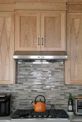 Charter Oaks Kitchen, Stove Wall