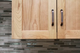 Charter Oaks Kitchen, Cabinet Pull Detail