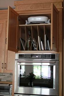 Charter Oaks Kitchen, Storage Detail