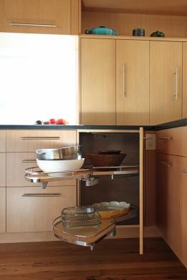 Elliot Kitchen, Pocket Door Detail