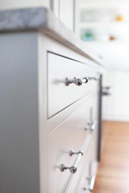 Evergreen Kitchen, Drawer Pull Detail
