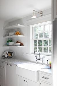 Evergreen Kitchen, Sink Wall