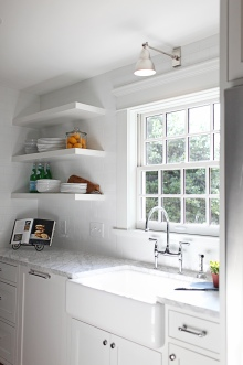 Evergreen Kitchen, Sink Wall