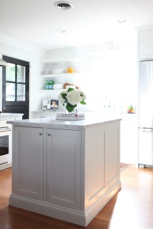 Evergreen Kitchen, Island Detail