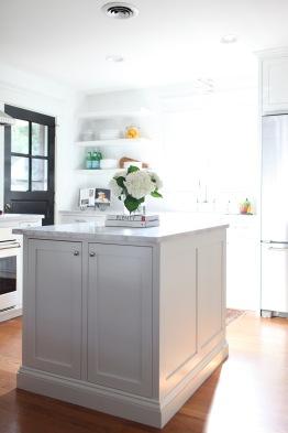 Evergreen Kitchen, Island Detail