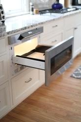 Kingston Kitchen, Microwave Drawer Detail