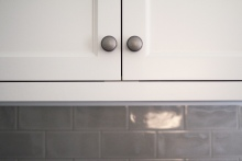 Kingston Kitchen, Cabinet Pull Detail