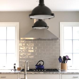 Kingston Kitchen, Stove Wall