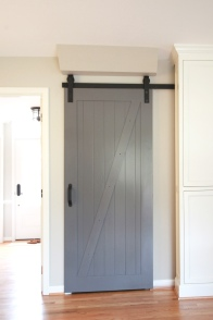 Kingston Kitchen, Barn Door