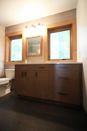 Box Holly Bathroom, Vanity Detail