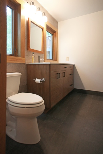Box Holly Bathroom, Vanity Wall